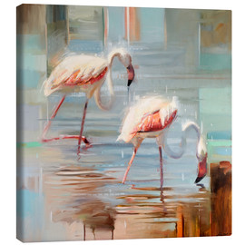 Johnny Morant - Sardinische Flamingos II