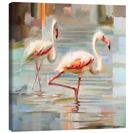 Johnny Morant - Sardinische Flamingos I