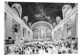 Sascha Kilmer - Grand Central Terminal, New York (monochrom)
