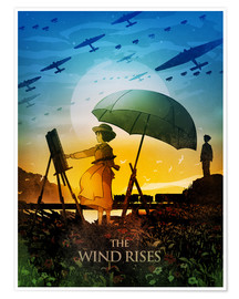 Poster  The Wind Rises - Albert Cagnef