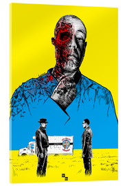 Acrylglasbild  Breaking Bad Gus Fring death whit blood - Paola Morpheus