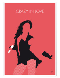Premium-Poster Beyoncé - Crazy In Love