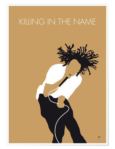 Premium-Poster Rage Against The Machine - Killing In The Name