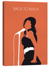 Leinwandbild  Amy Winehouse - Back To Black - chungkong