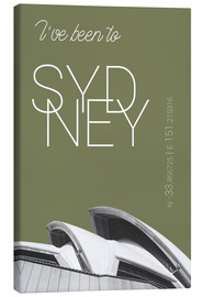 campus graphics - Popart Sydney Oper I have been to Farbe: Calliste Green