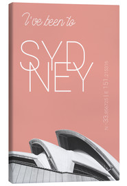 campus graphics - Popart Sydney Oper I have been to Farbe: blühende Dahlie