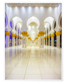 Premium-Poster Sheikh Zayed Grand Mosque