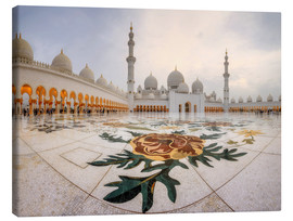Platz der Sheikh Zayed Grand Mosque