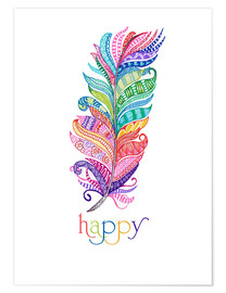 Poster  Happy - MiaMia