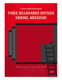 Premium-Poster Three Billboards Outside Ebbing, Missouri