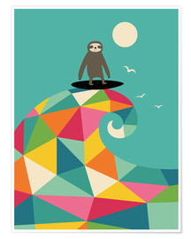 Premium-Poster  Surf Up - Andy Westface