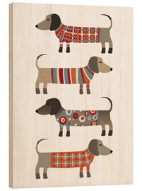 Nic Squirrell - Dachshund in Pullover