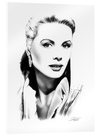 Acrylglas  Hollywood Diva - Grace Kelly - Dirk Richter