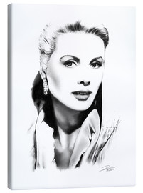 Leinwandbild  Hollywood Diva - Grace Kelly - Dirk Richter