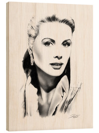 Holzbild  Hollywood Diva - Grace Kelly - Dirk Richter