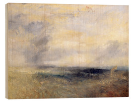 Holzbild  Margate vom Meer - Joseph Mallord William Turner