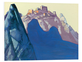 Nicholas Roerich - Fort Atop Berg