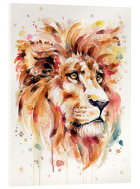 Acrylglasbild  All Things Majestic (Lion) - Sillier Than Sally