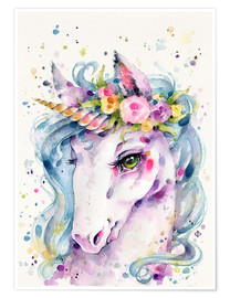 Premium-Poster  Little Unicorn - Sillier Than Sally