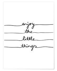 Premium-Poster Little Things