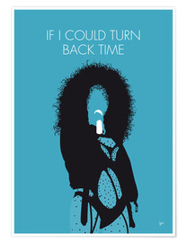 Premium-Poster Cher - If I Could Turn Back Time