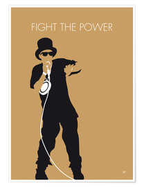 Premium-Poster Public Enemy - Fight The Power