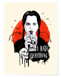 Premium-Poster Wednesday, Addams Family