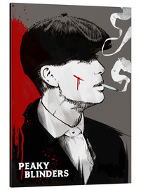 Alubild  Tommy Shelby, Peaky Blinders - 2ToastDesign