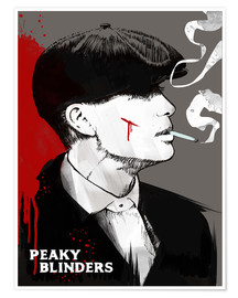 Premium-Poster  Peaky Blinders Tommy Shelby - 2ToastDesign