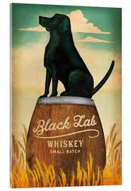 Acrylglasbild  Black Lab Whiskey - Ryan Fowler