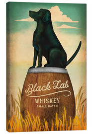 Leinwandbild  Black Lab Whiskey - Ryan Fowler
