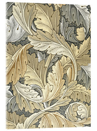 Acrylglasbild  Akanthus - William Morris