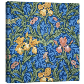 Leinwandbild  Iris - William Morris