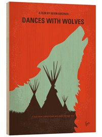 Holzbild  Dances With Wolves - chungkong