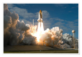 Stocktrek Images - Space Shuttle Atlantis hebt ab