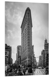 Hartschaumbild  Flatiron building in New York City - Axiom RF