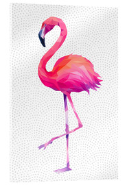 Acrylglas  Flamingo 1 - Miss Coopers Lounge