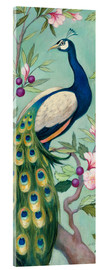 Acrylglas  Pretty Peacock II - Julia Purinton