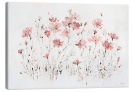 Leinwandbild  Wildblumen in rosa - Lisa Audit