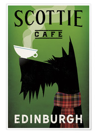 Premium-Poster  Scottie Cafe - Ryan Fowler