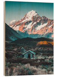 Nicky Price - Hütte am Mount Cook in Neuseeland
