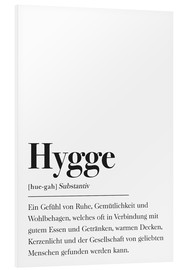 Hartschaumbild  Hygge Definition - Pulse of Art
