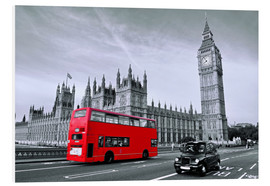 Forex  Red Bus auf Westminster Bridge - Art Couture